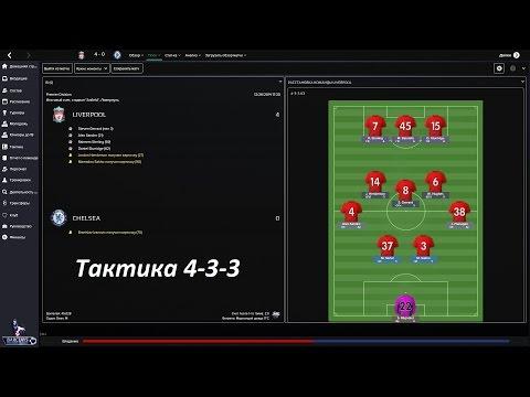 Football Manager 2015.Интересные тактики || 4-3-3
