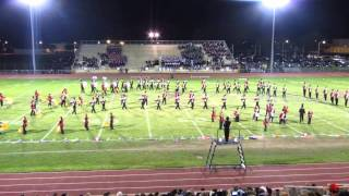 Cherry Hill East Marching Band Superior Performance 2013