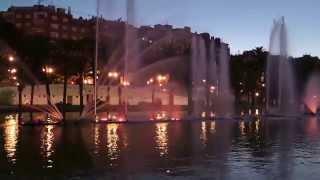 видео Фонтан-лодка в Валенсии