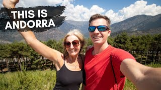 Arriving to Andorra - First Impressions of Andorra La Vella