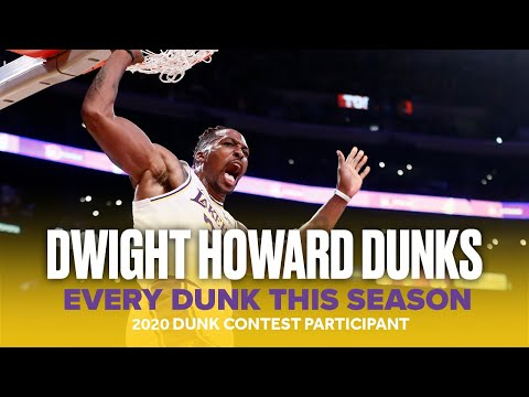 Dwight Howard Returns to the NBA Dunk Contest   All 2019-20 Season Lakers Dunks
