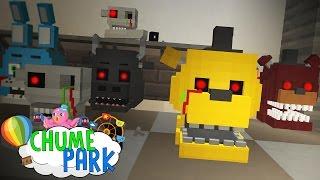 Minecraft: FÁBRICA DE ANIMATRONICS! (Chume Park #12)
