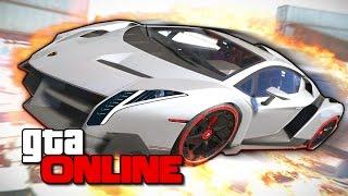 GTA 5 Online Гонки - Адская Бомбежка на Рампах 163