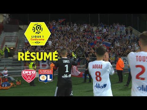 Dijon FCO - Olympique Lyonnais ( 2-5 ) - Résumé - (DFCO - OL) / 2017-18