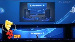 E3 2014 Playstation Press Conference: Playstation Now Public Beta Is Coming Soon