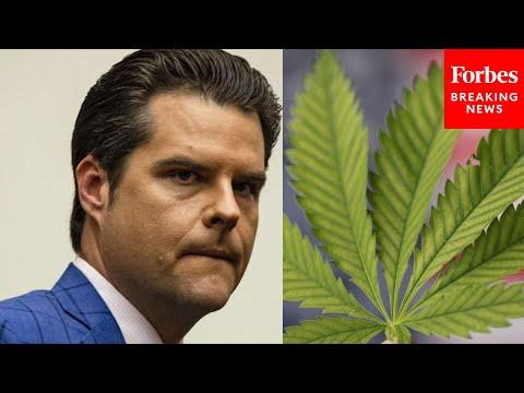 """Matt Gaetz Slams """"War On Drugs,"""" Commends Democrats For Marijuana Banking Bill"""
