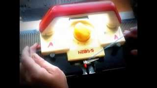 Вязание на вязальной машине Нева 5 .Урок  1
