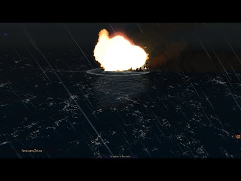 Let's play: Atlantic Fleet Campaign. Part 2.