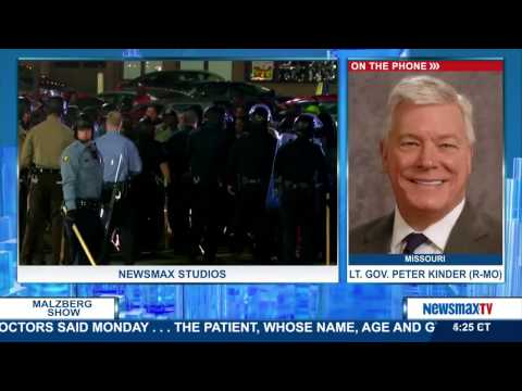 """Malzberg   Lt. Gov. Peter Kinder: """"There's more racism in the DOJ than anywhere else in St. Louis."""""""