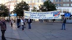 Martin Schulz zeigt Nerven! SPD Veranstaltung Berlin Alexanderplatz 19.05.14