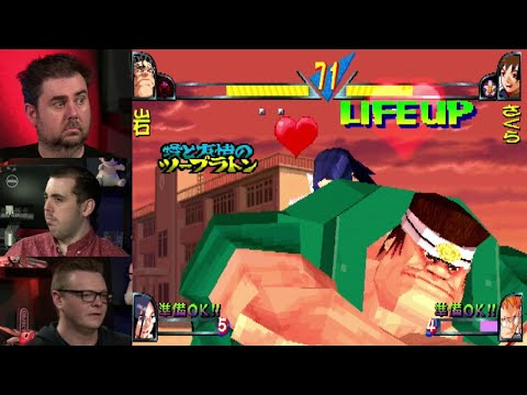 Ranking of Fighters 0009: Double Dragon 95 & Rival Schools