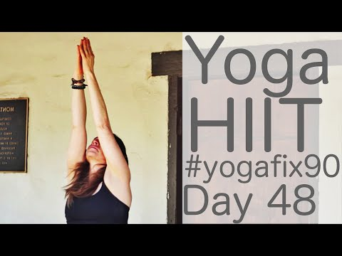 29 Minute Yoga HIIT Day 48 Yoga fix 90 with Fightmaster Yoga
