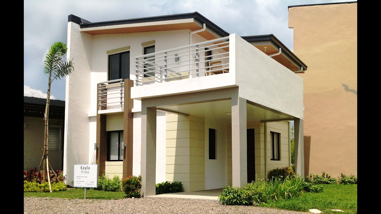 Kayla prime house model sentrina subdivision lipa city for The model house