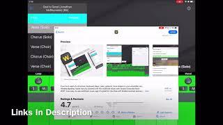 God Is Good (Jonathan McReynolds) Worṡhip Backing Tracks App Preview