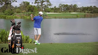 Skip Shot Across Water | Golf Digest