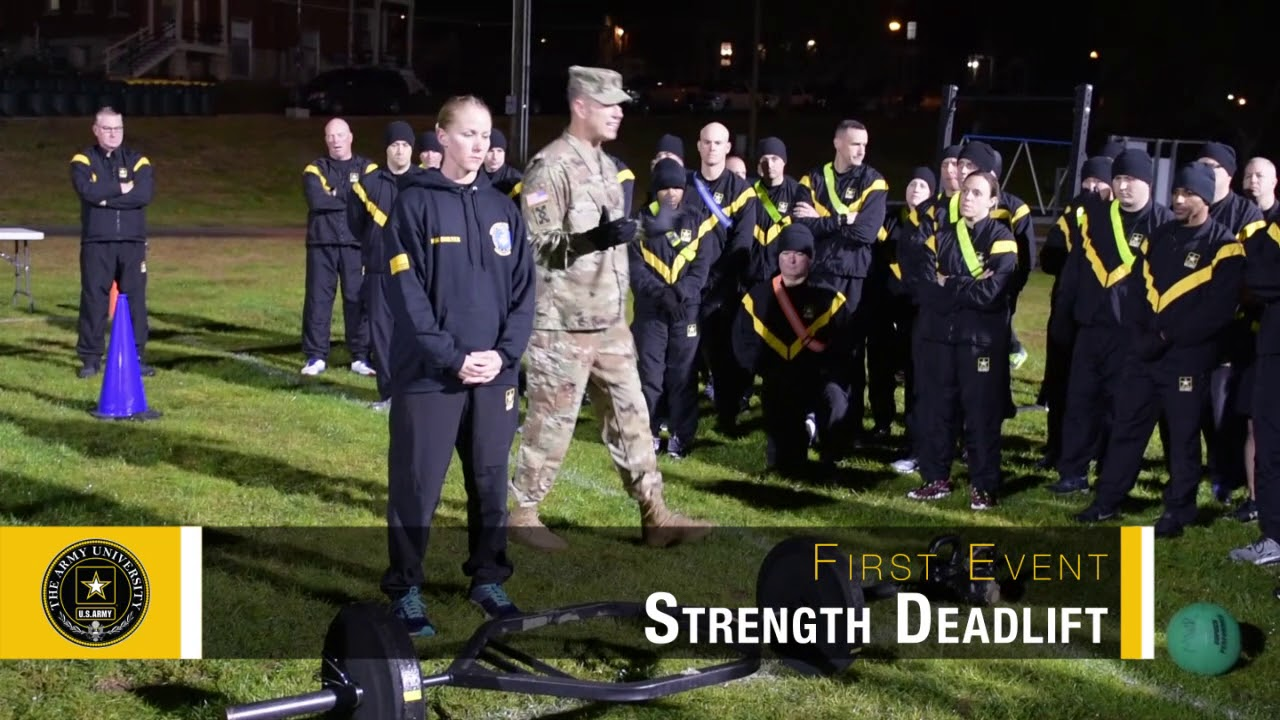 Produced by The Army University, this video is an in-depth look at the Army Combat Fitness Test (ACFT). It includes an overview, instructions, demonstrations, and Q&As.
