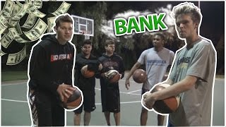 One of MOOCHIE MOBCITY's most viewed videos: INSANE GAME OF BANK!!! three point contest
