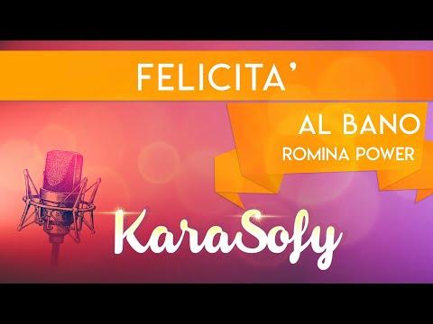 felicità albano karaoke