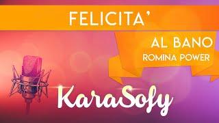 Felicità - Albano e Romina - base karaoke - Intrumental