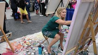 Live Painting at the Connect Conference #connectMP