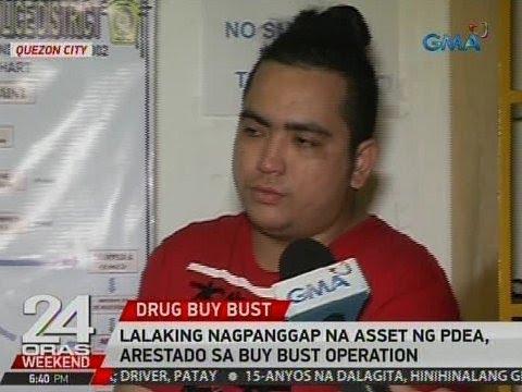 24 Oras: Lalaking nagpanggap na asset ng PDEA, arestado sa buy bust operation sa QC
