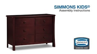 Simmons Kids® Madisson Dresser Assembly Video