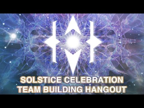 Paradigm Shift Central - Solstice Celebration Team Building Hangout. Dec 21, 2016