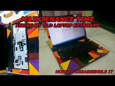 Maintenance Time, Repairing my Old Laptop Keyboard