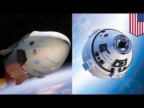SpaceX Dragon 2 and Boeing CST-100 Starliner pushing 'new space race' for NASA - TomoNews