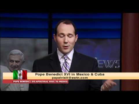 Papal Visit To Mexico / Cuba  3-24-12 Arrival & Saturday  Vespers
