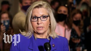 Watch Liz Cheney speak after Republicans voted to oust her