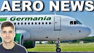 GERMANIA am BODEN! Insolvenz angemeldet! AeroNews