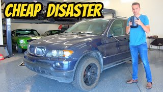 homepage tile video photo for Here's Why You Should NEVER EVER Buy A Cheap BMW X5