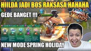 MODE BARU SPRING HOLIDAY HILDA JADI BOS HAHAHA - MOBILE LEGEND BANG BANG