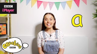 "Learn letter ""a"" with Evie and Dodge 