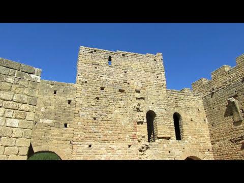 Castillo de Loarre. Escenario de películas y fortaleza románica mejor conservada de Europa.