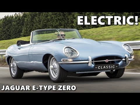 jaguar e type zero electric youtube. Black Bedroom Furniture Sets. Home Design Ideas
