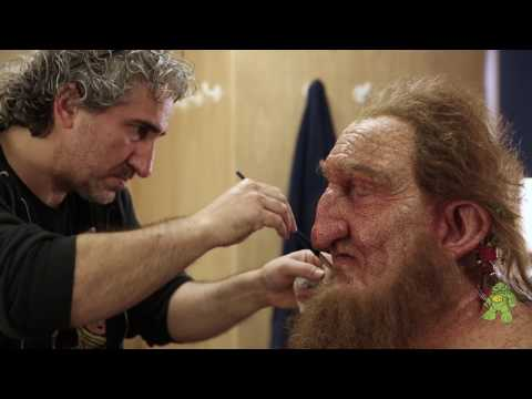 Telstra - Giant Fantasy Prosthetic Makeup Application