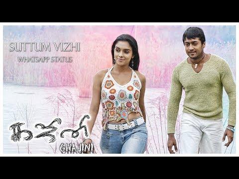 Suttum Vizhi - Whatsapp Status | Ghajini Tamil Movie | Harris Jayaraj | 1