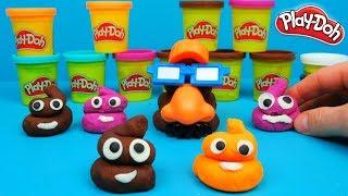 Play Doh Poop Troop Emojis van klei