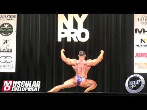 Zane Watson's Posing Routine (2nd in 212)   2018 IFBB New York Pro
