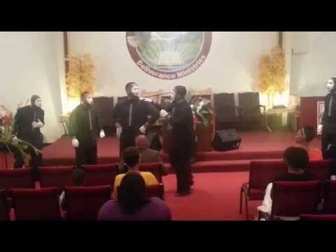 James Fortune Miracles - Mime by PWDM Holyfire Mime Ministers