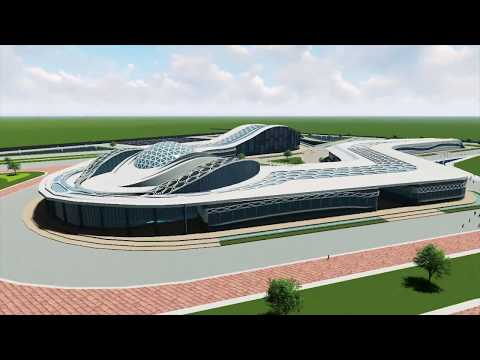 Exhibition center and conferences in the new capital - graduation project 2017