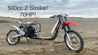 Building The Ultimate Off-Road Scooter! Full Time lapse 4K