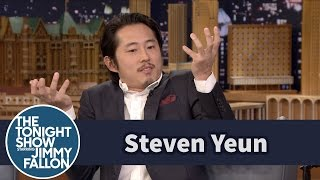Steven Yeun Reveals How He Stayed Mum on His Walking Dead Fate thumbnail
