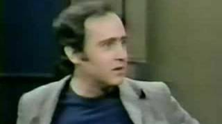 Andy Kaufman on Letterman (September 22nd 1983) Part 1