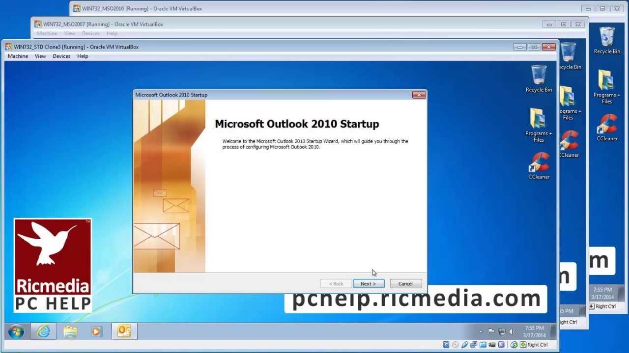 Setup Outlook 2007-2010-2013 to access Gmail via POP3
