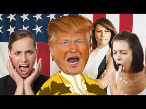 Trump sings
