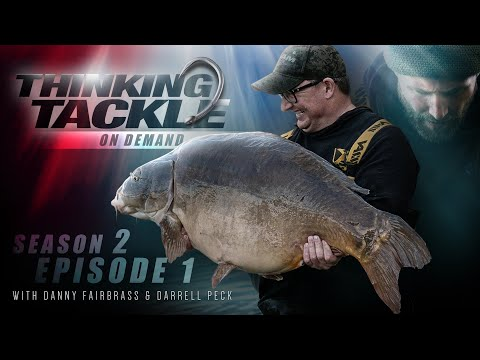 Thinking Tackle OD Season 2 Ep1 Danny Fairbrass & Darrell Peck | Korda Carp Fishing 2019