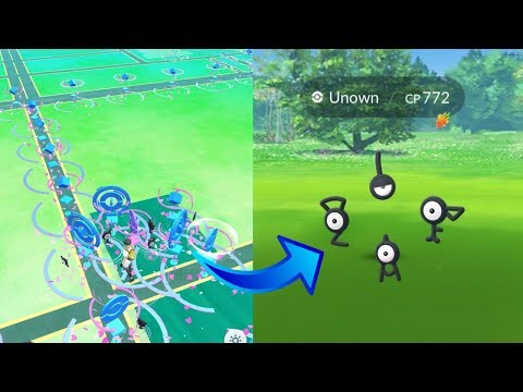 3 NEW SECRET UNOWN EVENTS IN POKEMON GO! HOW TO CATCH UNOWN